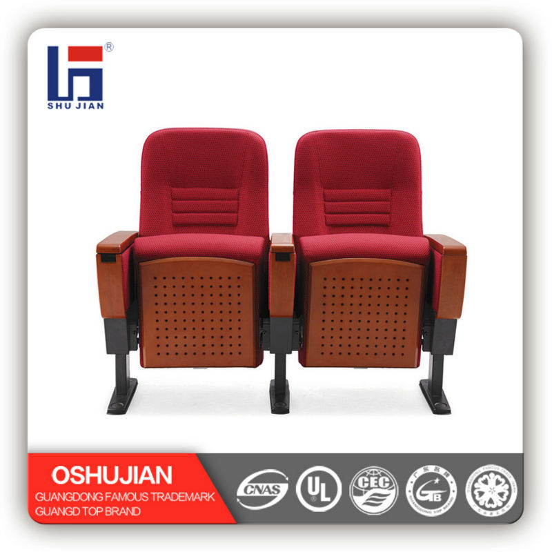 alibaba china auditorium chair with folding writing tables SJ8606