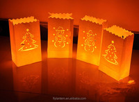 wholesale fireproof luminary lantern paper candle bag