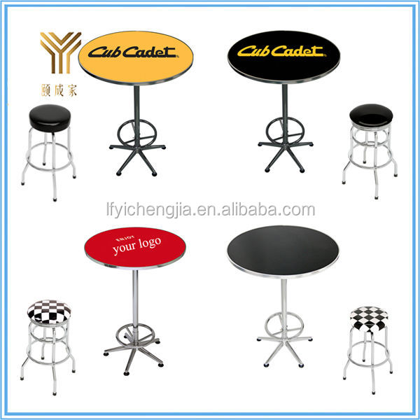 Bar Pub Tables Height Console High Top Bistro Table