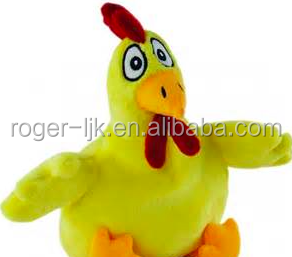 ICTI Create Your Own CE EN71 Plush Toy Fashion Custom Plush Chicken Toy