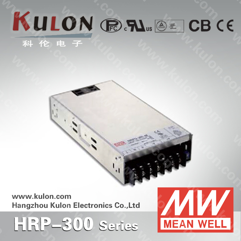 MEANWELL HRP-300-48 Single Output 300W 48V 7a PFC Switching Power Supply