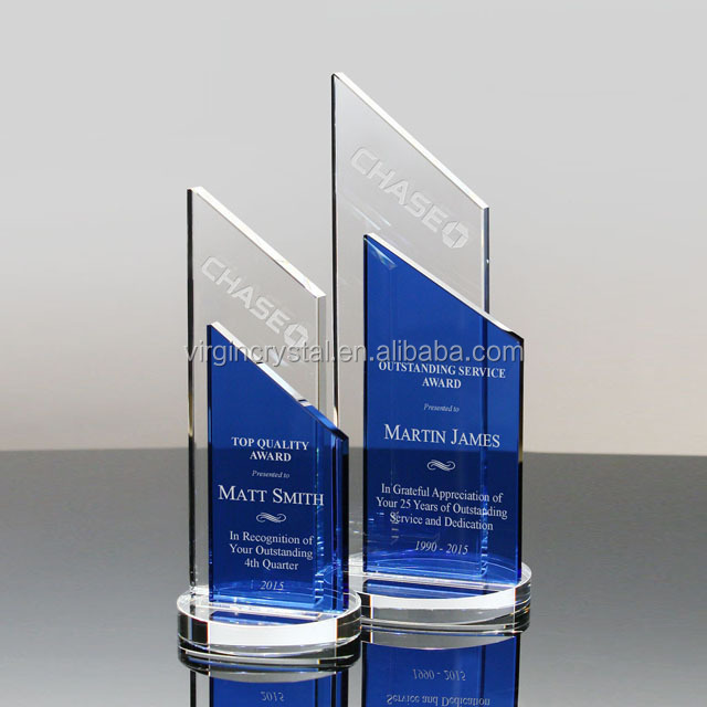 Crystal Shield Awards Plaque Corporate Gifts