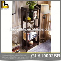 High quality fashion storage shelf bookshelf ladder