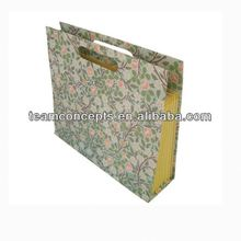 Decorative Office Stationery file folder with flap Hot Sale Paper File Folder