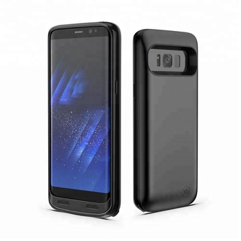 iFans 5000mAh battery pack portable charger phone 18650 Battery Phone Case for Samsung Galaxy S8 Plus