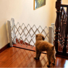 Indoor pet safety gate folding pet fence