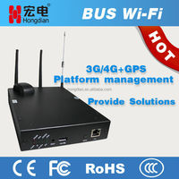 Super bus 4G GPS wifi router as hotspot