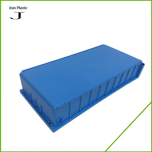 warehouse plastic storage bins with dividers