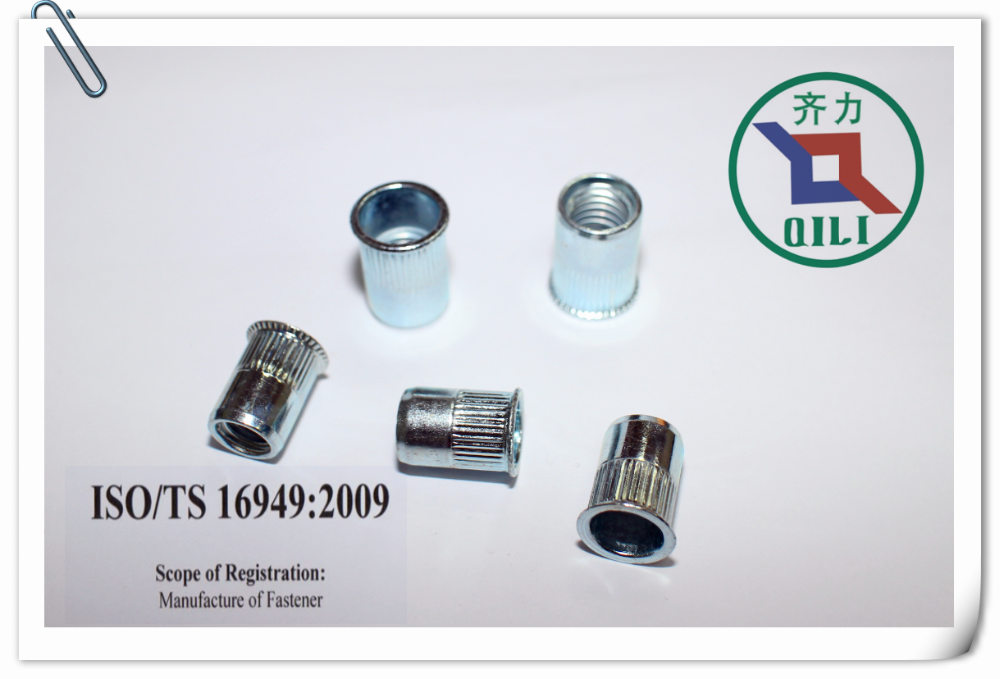 china made quick installed fastener rivet nut