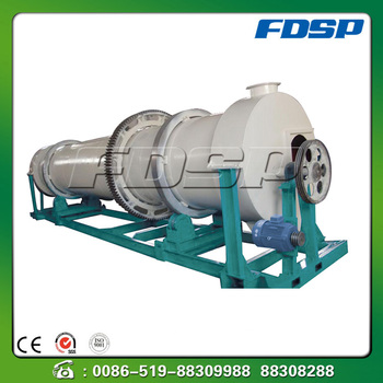 Chinese drum rotary dryer for wood pelleting plant