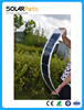 Long and Narrow Thin film semi flexible solar panel 3V 18W