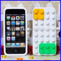 OEM cheap price soft silicone rubber case for iphone5