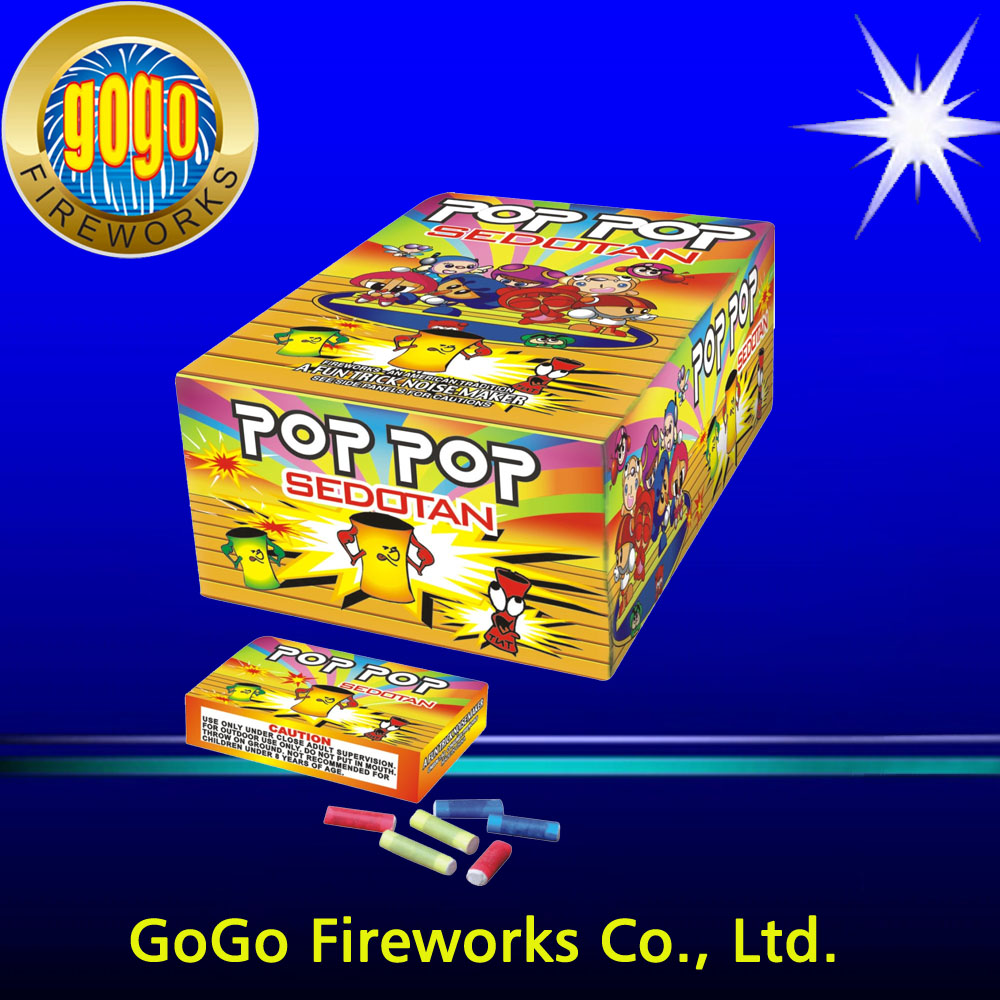 Plastic Pop Pop fireworks international shipping small fireworks happy boom fireworks
