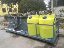 Smart movable DAF Dissolved air flotation units for industrial wastewater treatment