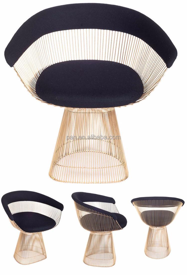 Nuevo dise o r plica muebles comedor de acero stainess for Replicas muebles diseno
