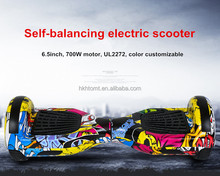 HTOMT Wholesale china 6.5inch UL2272 hoverboard two wheels self balancing electric scooter