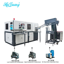 Full auto pet blower/blow molding machine without preform feeder