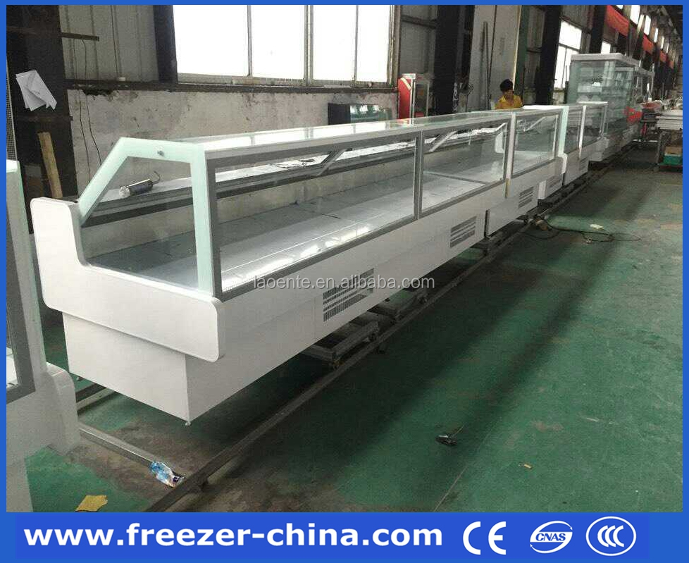 Cooked Food Supermarket Deli Cooler Showcase 2000mm Length