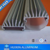 AL6000 series extrusion machined custom built white anodized aluminum profile led tube