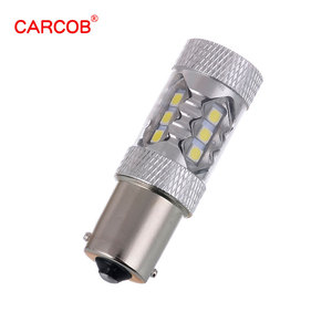 CAR COB factory price auto led car light white 12V 80W 1156 led bulb high power bright drl turn signal light for cars