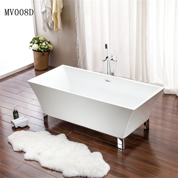 bathtub with overflow square bath tub freestanding bathtub