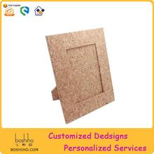 Eco-friendly new design cork fabric digital photo picture frame