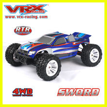 Radio controlled models, Brushless 1/10 scale RC truck,mini rc car