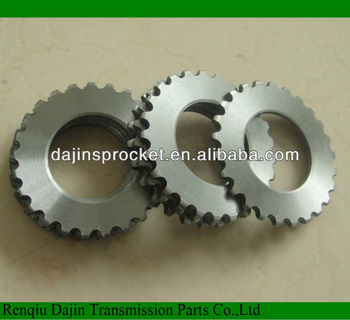 ANSI standard 1045 New type material of chain sprocket