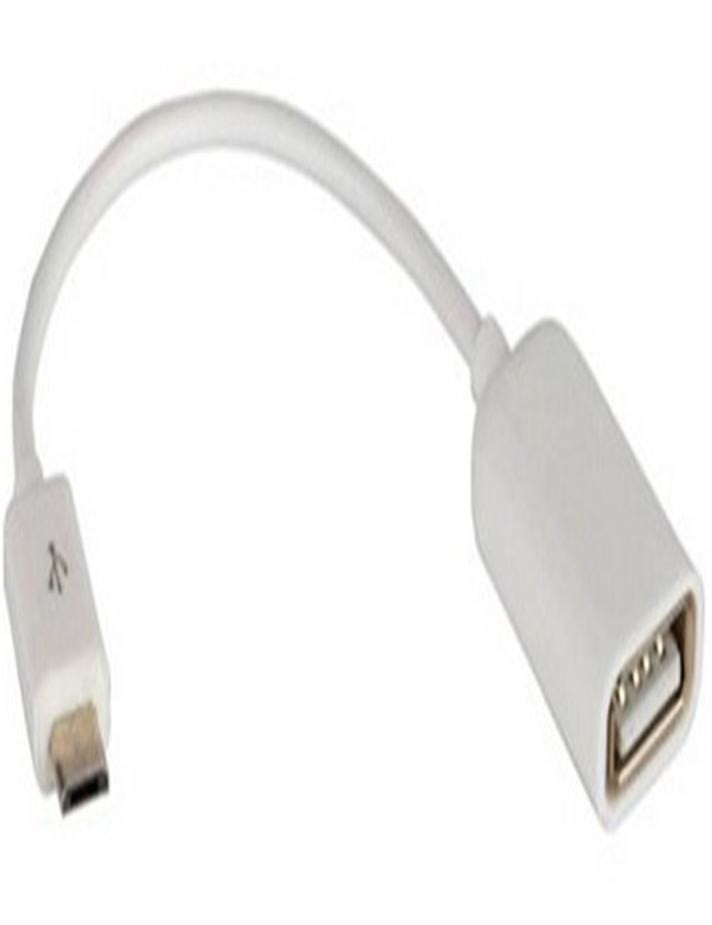 USB 5pin Male To USB <strong>2</strong>.<strong>O</strong> Female Adapter cable White color 480mbps Top quality
