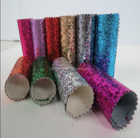 Wholesale Glitter Pu Leather Best Selling