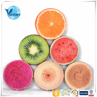 soft and popular Fruit Car Seat Cushion sofa Cushion among children and adults