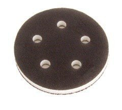 "5"" 5 Hole Grip Faced Interface Vacuum Pad"