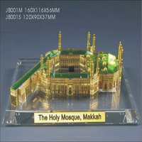 mini 3d crystal makkah model JB001