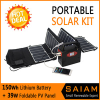 Hot selling mini projects solar power systems camping