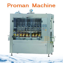Automatic 5L Edible Oil Filling Machine With Screw Cap , Oil Bottle Filling Machine