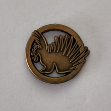 Custom Antique Gold Plating Enamel Pin Badges With The Lowest Price