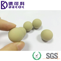High Quality Custom Rubber Ball Rubber Coated Steel Metal Ball for Sale