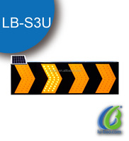 High brightness Solar Traffic sign Road construction guide flashing led board road guide sign