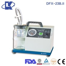 Cheapest! medical suction unit manual vacuum suction unit medical aspirator device DFX-23B.II