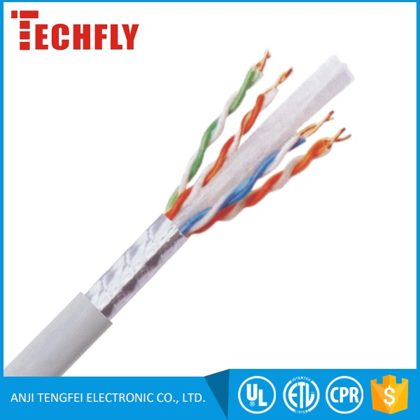 High Quality BC bare copper FTP Cat6A Cable for Gigabit Ethernet