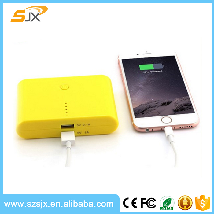 Portable battery charger Mobile power bank 8800 mAh available customized OEM Logo