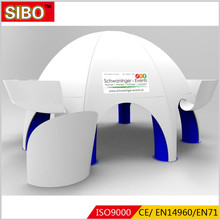 Advertising party wedding garage white air tent outdoor inflatable big dome tent