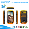 4.3 inch rugged dustproof Cell Phone MTK6589 Cortex A7 Quad Core 1.2GHz