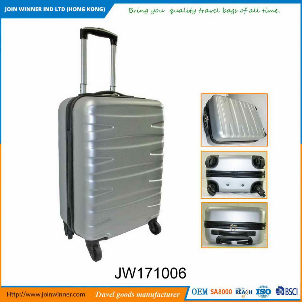 Custom Size Hard Hand Luggage Suitcase With Multiple Colors