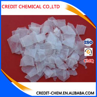 food and industrial grade most competitive price Caustic soda flakes 99%