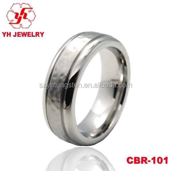 Latest-wedding-ring-designs,Top Selling,cobalt chrom Ring with Grooved ,new-model-wedding-ring