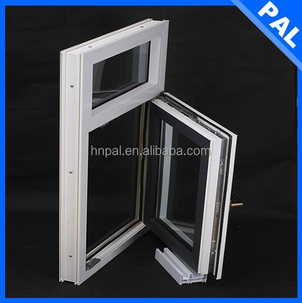 High quality Wind resistance wooden color window fan filter With blind