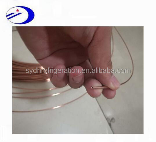 2mm OD * 0.2mm thickness copper capillary tube