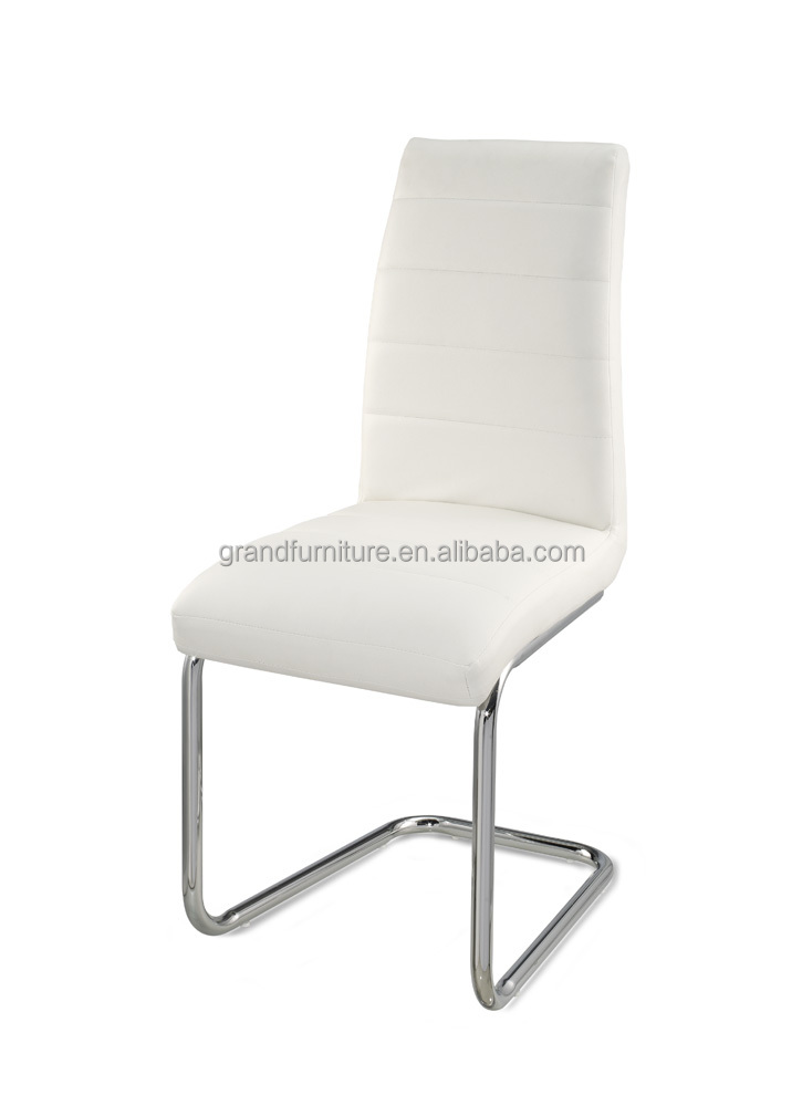 Hot Selling Modern White Leather Office Dining Chair dining Chair