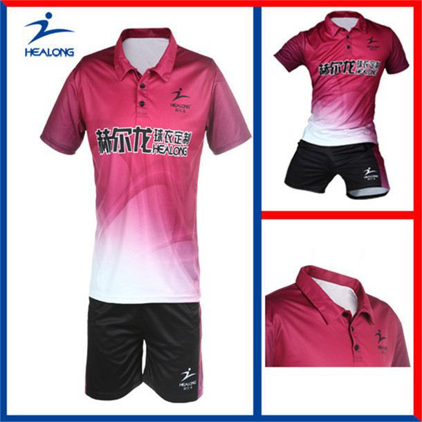 Healong 3d Sublimation Transfer New Polo Shirt Supplier